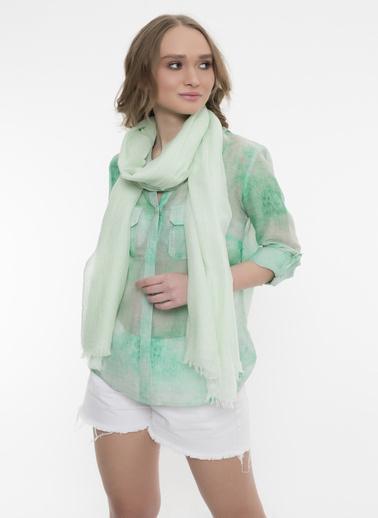 Silk and Cashmere Şal Yeşil